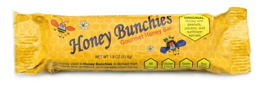 Honey Bunchies Gourmet Honey Bar.