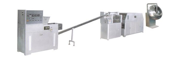 Hollow Gum Ball Line candy production line by Loynds