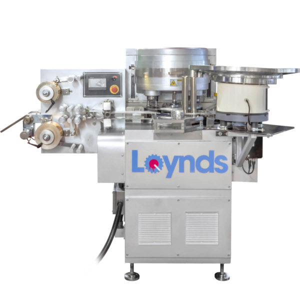 Loynds Chocolate Coin Foiling and Embossing Machine